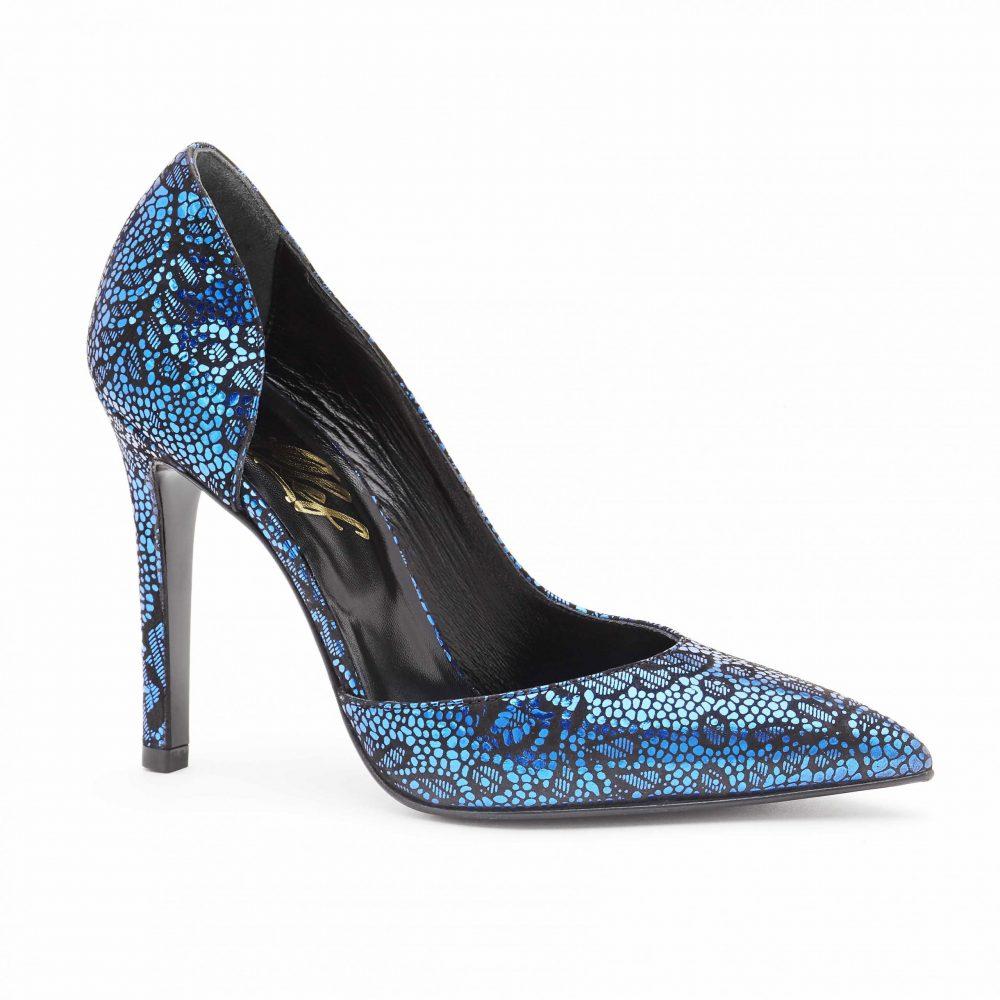 Women's d'Orsay High Heels Pumps blue