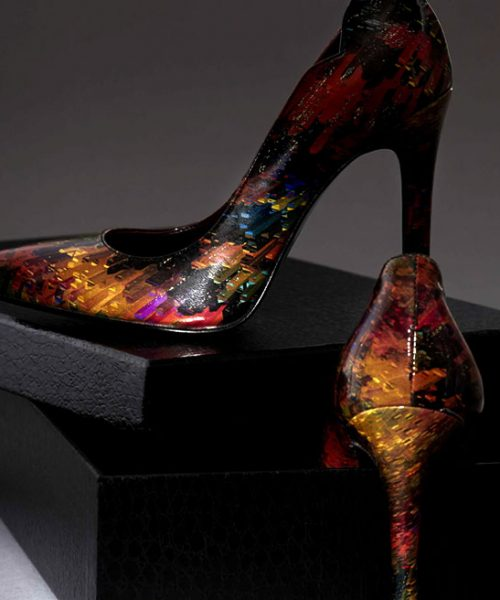Designer Italian Leather Pumps from Clef Shoes